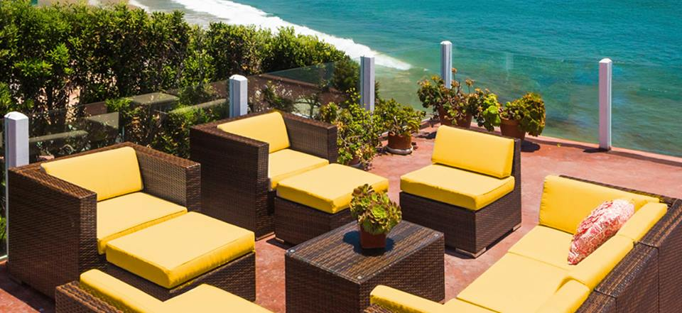 Merveilleux Ohana Outdoor Wicker Patio Furniture Sunbrella Yellow Couch