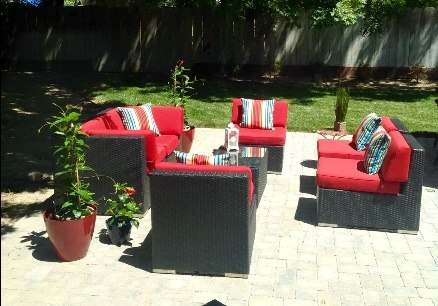 Ohana Patio Furniture Seating Set. U201c