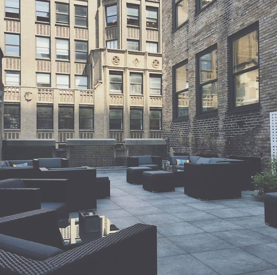 Siteohanawickerfurniture blog patio furniture chic gray covers with our black deep seating sets work well in professional settings such as blueprint and co a coworking space with malvernweather Image collections