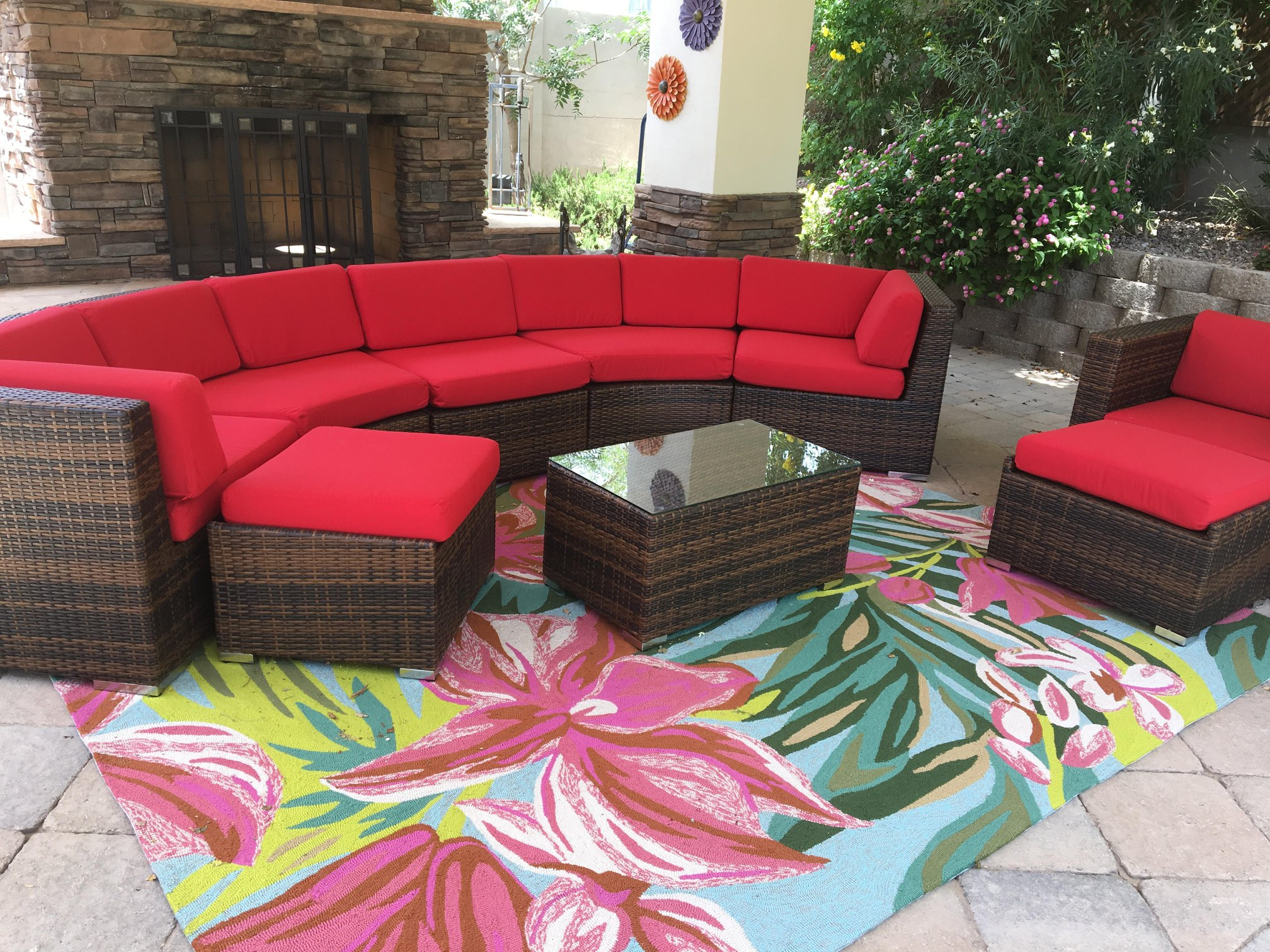 ohana patio wicker furniture outdoor seating